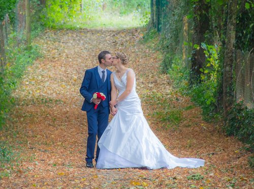 Photographe mariage - sourire au naturel - photo 26