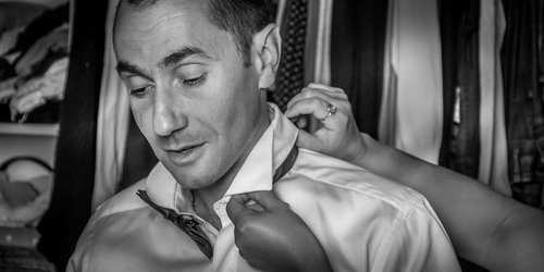 Photographe mariage - sourire au naturel - photo 49