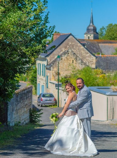 Photographe mariage - sourire au naturel - photo 23