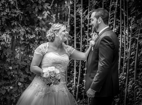 Photographe mariage - sourire au naturel - photo 19
