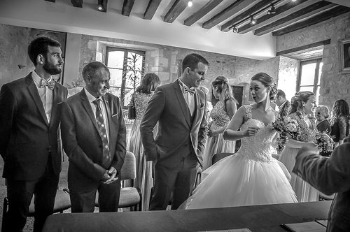 Photographe mariage - sourire au naturel - photo 41