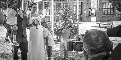 Photographe mariage - sourire au naturel - photo 28