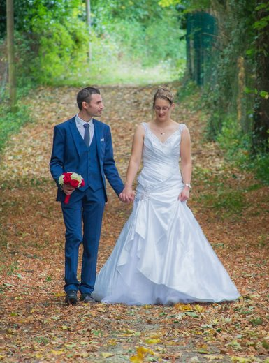 Photographe mariage - sourire au naturel - photo 27