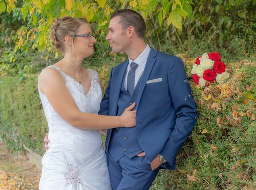 Photographe mariage - sourire au naturel - photo 25