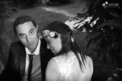 Photographe mariage - CAPTURE EMOTIONS LASPALLES - photo 1