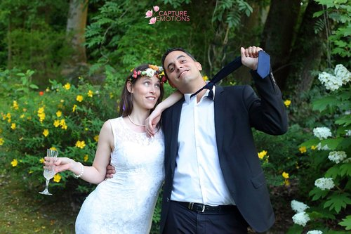 Photographe mariage - CAPTURE EMOTIONS LASPALLES - photo 4