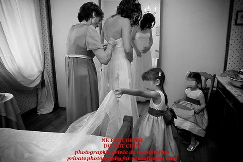 Photographe mariage - AU FIL DU TEMPS - photo 1