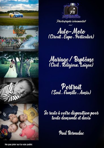 Photographe mariage - BERNADAC paul Photographe - photo 2